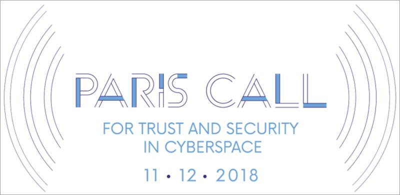"""El """"Llamamiento de París para la confianza y seguridad en el ciberespacio"""" ha sido bien acogido por entidades públicas y privadas y numerosos países, sin embargo Estados Unidos, China, Rusia e India no la han firmado."""