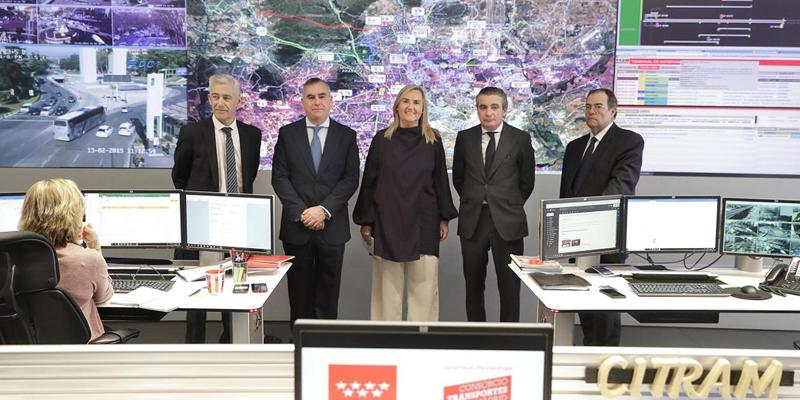 La consejera de Trasportes, Vivienda e Infraestructuras de la Comunidad de Madrid, Rosalía Gonzalo, anunció el proyecto de creación del Centro de Innovación y Formación de Movilidad de Madrid durante su visita al Citram.
