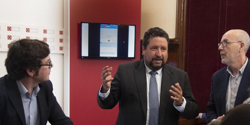 """Presentación de """"DipcasBot"""", el asistente de voz basado en inteligencia artificial que ha lanzado la Diputación de Castellón."""