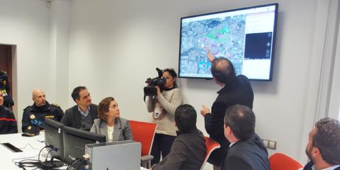 Logroño estrena sistema de comunicaciones para emergencias integrado en su plataforma smart city