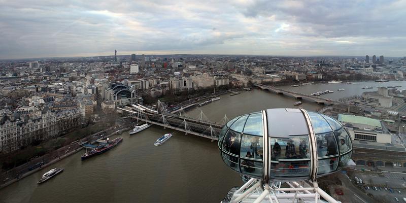 Londres es una de las ciudades europeas que más problemas de calidad del aire sufre.