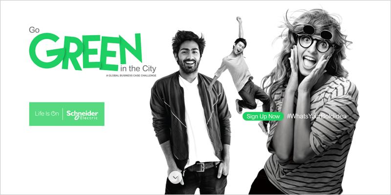"""Los estudiantes de ingeniería, ciencias y negocios puedes presentar sus proyectos a la competición """"Go Green in the City"""" hasta el 25 de mayo."""
