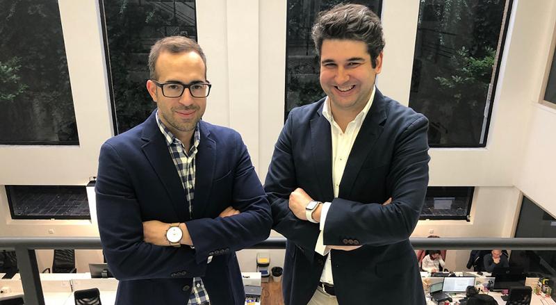 Alex Bryszkowski (izquierda) y Juan Ederra (derecha) fundadores de la primera red LoRa de España, Redexia.
