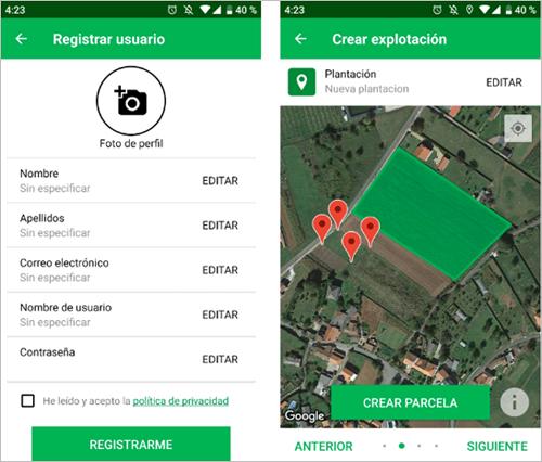 Los usuarios de la aplicación oSIGris introducen información sobre incidencias que sirven como información al resto de usuarios, de forma colaborativa.