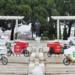 Un centro de distribución urbana de última milla que reparte con bicicletas eléctricas