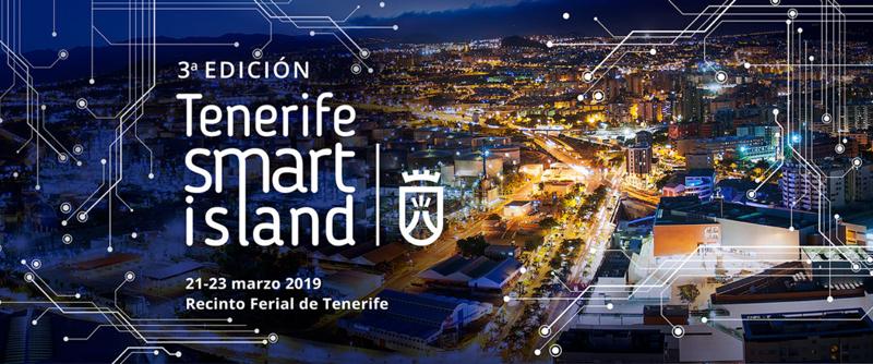El evento Tenerife Smart Island es gratuito y se celebra del 21 al 23 de marzo.
