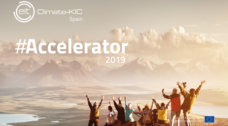 La convocatoriaEIT Climate-KIC Spain Accelerator 2019 estará abierta hasta el 17 de marzo.