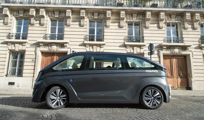La compañía iniciará este año las pruebas del Autonom Cab en vías abiertas de Francia y Australia.
