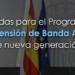 El Gobierno autoriza 150 millones de euros en ayudas para la extensión de la banda ancha en «zonas blancas»