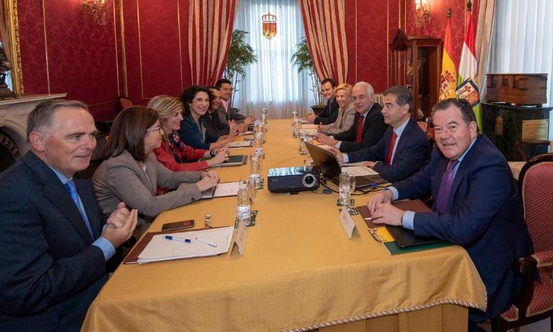 Comisión Interdepartamental de Investigación, Desarrollo Tecnológico e Innovación en la que ha sido aprobada la Estrategia Regional de Especialización Inteligente de La Rioja.