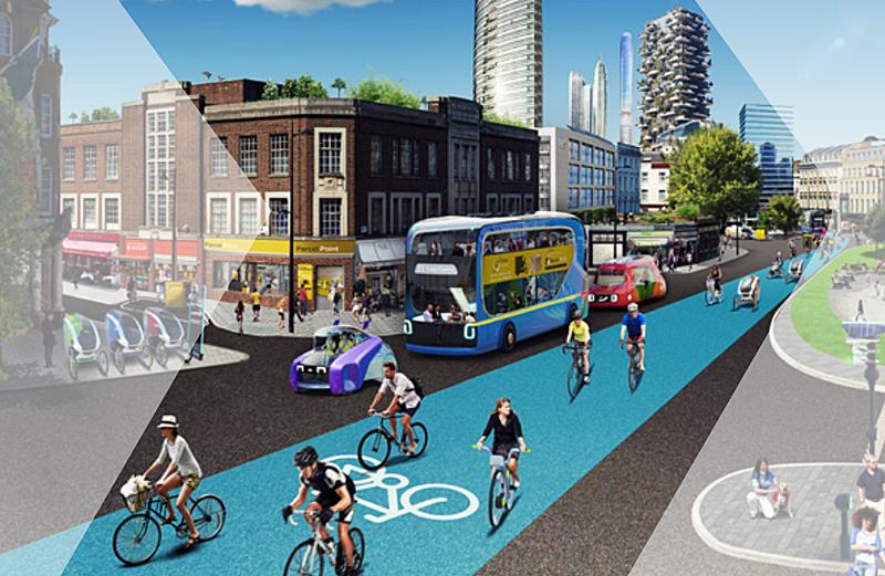 El trasporte multimodal y bajo en emisiones será clave en la transformación de la movilidad urbana.
