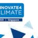 Singapur acogerá la III edición del Congreso Internacional Innovative4Climate del 4 al 7 de junio