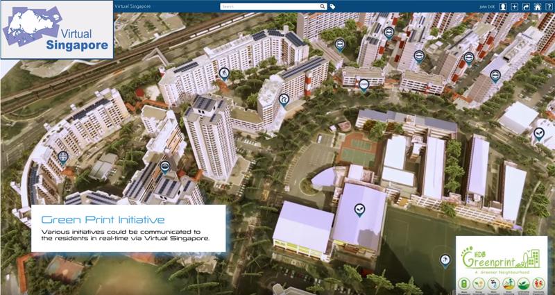 """La plataforma permite hacer una monitorización en tiempo real del proyecto de ciudad inteligente """"Greenprint"""" que se aplica en el distrito de Yuhua."""