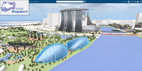 Singapur y su gemelo digital, las posibilidades que ofrece a una ciudad inteligente tener una copia virtual exacta