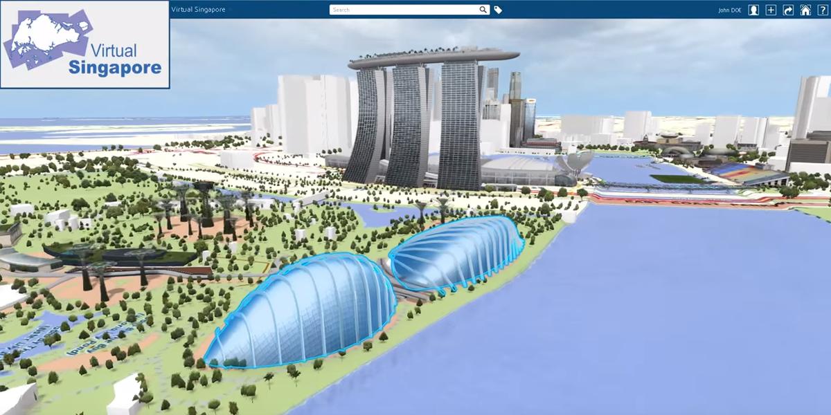 Singapur y su gemelo digital, las posibilidades que ofrece a una ciudad inteligente tener una copia virtual exacta • ESMARTCITY
