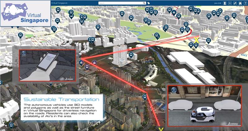 Además de utilidad para las autoridades, que pueden adaptar sus sistemas de transporte a las necesidades de la ciudad, en tiempo real, el gemelo digital de la ciudad es útil para la ciudadanía.