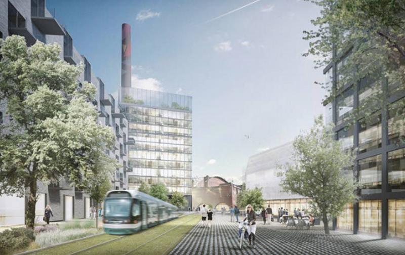 Dentro del eje de movilidad inteligente de Smart Tampere, se encuentra el desarrollo del tranvía como línea troncal de transporte que una el centro con el resto de distritos.