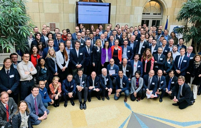 Acto de lanzamiento de la Asociación Internacional para Aplicaciones Blockchain de Confianza (INATBA, en sus siglas en inglés).