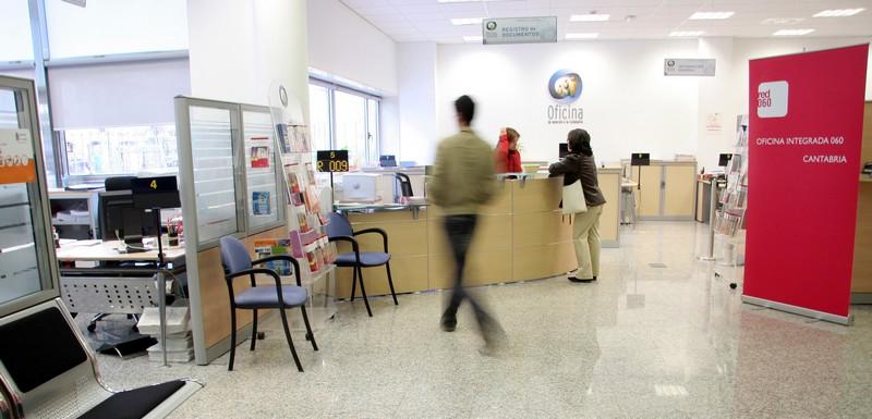 Una Oficina de Atención a la Ciudadanía de Cantabria, que pasan a estar reguladas por la nueva normativa autonómica sobre Administración electrónica y atención ciudadana.