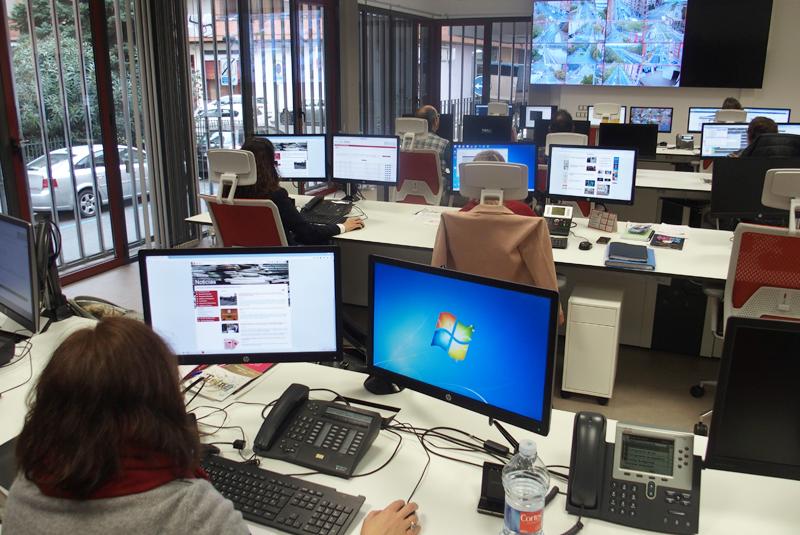 Centro Smart Logroño, donde se aloja la plataforma urbana para la gestión de los servicios municipales.