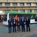 El primer autobús aeroportuario eléctrico de España empieza a operar en Sevilla