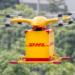 Un dron inteligente de DHL realiza la primera entrega de un paquete a un cliente en China