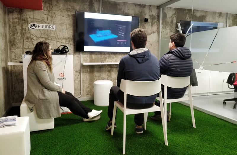 El Fiware Space acerca las herramientas y soluciones inteligentes a empresas, estudiantes y ciudadanos y ofrece mentorización, formación y asesoramiento a emprendedores de la provincia. Foto: Twitter Fiware Space.
