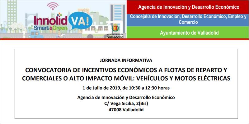 Para resolver dudas y ofrecer información acerca de la convocatoria de incentivos económicos a la compra de vehículos eléctricos a cambio de la cesión de datos de uso de las flotas, el Ayuntamiento de Valladolid celebra una primera jornada informativa este lunes.