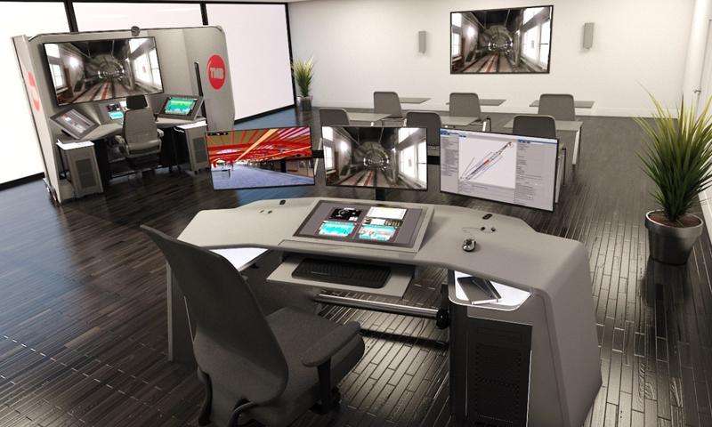 Propuesta de simulador de conducción autónoma de Alstom, adjudicataria del proyecto de Metro de Barcelona.