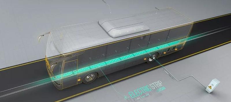 Suecia quiere contar con un sistema nacional de carreteras eléctricas con la que lograr la necesaria reducción de emisiones CO2 en el transporte, principalmente, de mercancías. Apuesta por sistemas de electrificación de carga por inducción (imagen) y por conducción. Foto: Electreon.