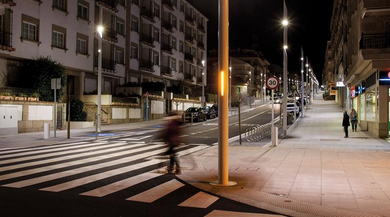 Iluminación cálida que de luminarias con tecnología Circadonic.