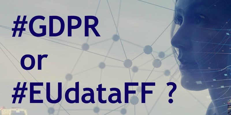 La guía compara los reglamentos de protección de datos personales y no personales y resultará de utilidad a empresas que gestionen ambos tipos de datos en la Unión Europea. Imagen: Comisión Europea.
