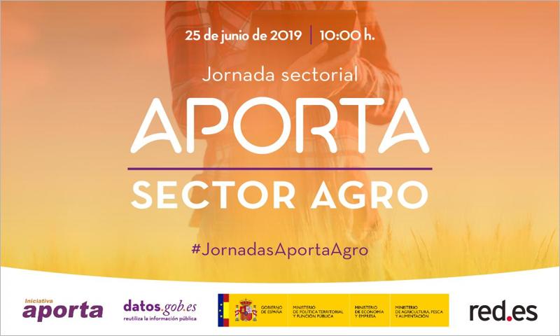 La Jornada Sectorial Aporta Sector Agro es gratuita y se celebra este martes en las instalaciones de Red.es.