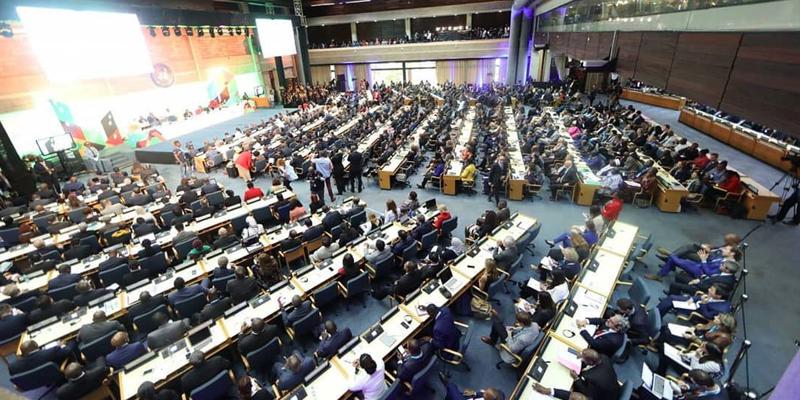 Primera asamblea de ONU-Hábitat celebrada en Nairobi (Kenia). Foto: Twitter ONU-Hábitat.