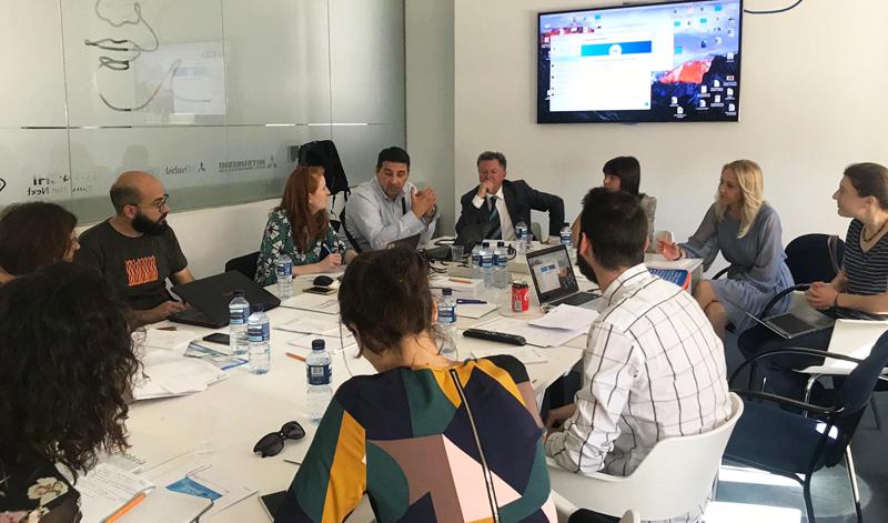 """Encuentro de trabajo con los socios del resto de regiones europeas que participan en el proyecto """"Green Mind"""" de Interreg Mediterranean."""