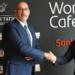 El Santander y Telefónica prueban las primeras oficinas bancarias conectadas mediante 5G en Alcobendas