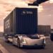 Un vehículo eléctrico y autónomo transportará mercancías en el puerto sueco de Gotemburgo