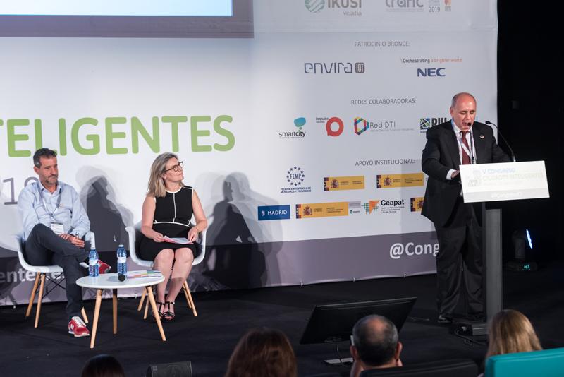 El secretario general de la Federación Española de Municipios y Provincias (FEMP) participó en el acto de apertura del Congreso.