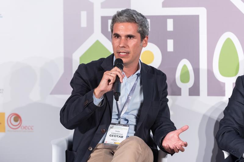 El director del Área Mediterránea de Geotab, Iván Lequerica, habló sobre la necesidad de fuentes de datos abiertos.
