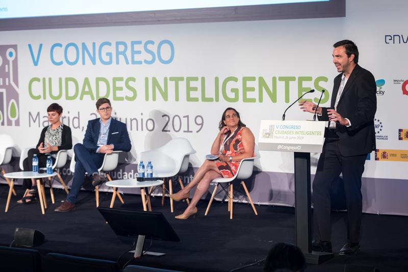 Javier Carpintero, Cloud & IoT Presales Manager de NEC Ibérica, durante su ponencia.