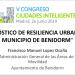 Diagnóstico de resiliencia urbana en el municipio de Benidorm