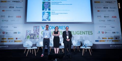 Inauguración V Congreso Ciudades Inteligentes