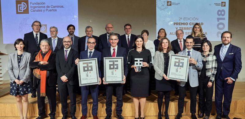 Premiados 2ª Edición del Premio 'Ciudad y Territorio Albert Serratosa