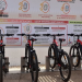 Una estación de préstamo y recarga de bicis eléctricas con energía limpia, alternativa para los turistas en Lanzarote
