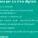 El Gobierno de Cataluña presenta la Carta Catalana para los derechos y las responsabilidades digitales