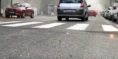 Así es un paso de peatones inteligente de Proinnova