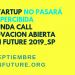 Abre la segunda convocatoria de innovación Open Future 2019 en busca de start ups con proyectos tecnológicos