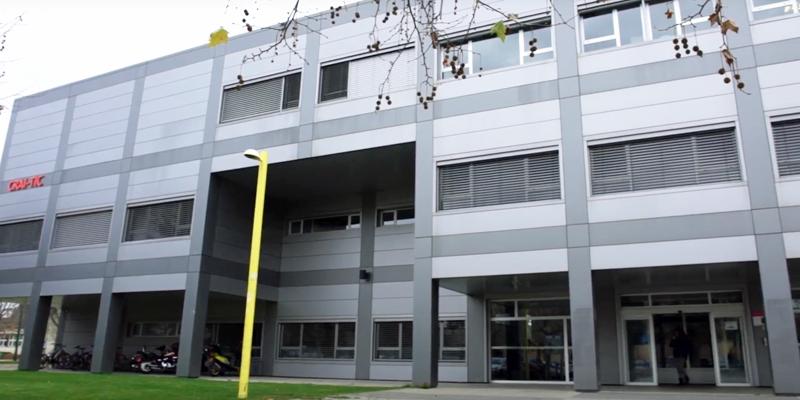 Fachada del Centro de Supercomputación de Castilla y León ((Scayle)
