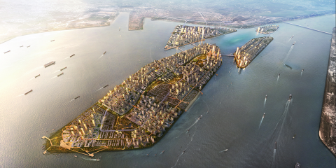 La apuesta de Malasia: una ciudad inteligente y sostenible formada por islas que se construyen desde cero