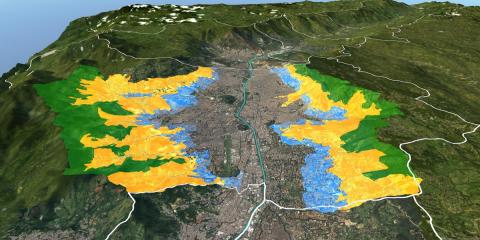 Medellín como ciudad innovadora, modelado con autómatas celulares (AC) para el monitoreo de sus bordes